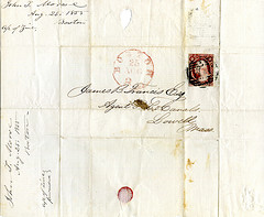 Before email 1:  before envelopes --- 1855
