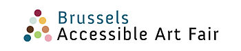 English: Brussels Accessible Art Fair Logo