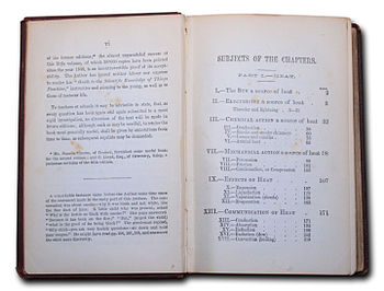 English: First contents page of A Guide to the...